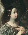 The Angel Of The Annunciation - (after) Francesco Giovanni Gessi