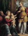 The Holy Family With Saint Catherine - Garofalo