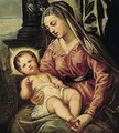 The Madonna And Child - Jacopo Tintoretto (Robusti)