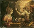 The annunciation - Peter (Peter Candid) Witte