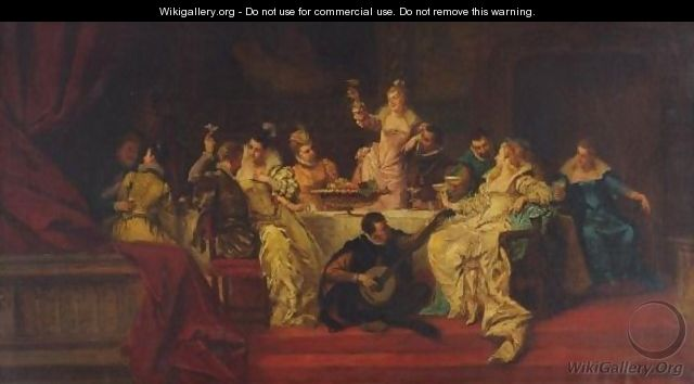 The Banquet - Ladislaus Bakalowicz