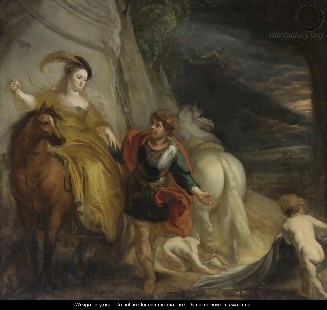 Dido And Aeneas 2 - Theodor Van Thulden