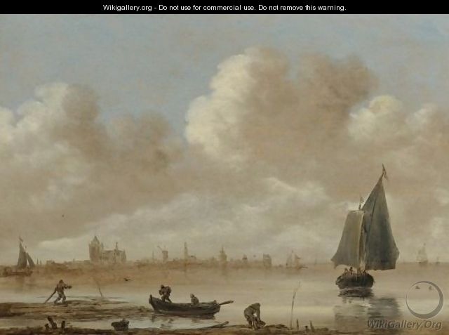 View Of The City Of Veere - Jan van Goyen
