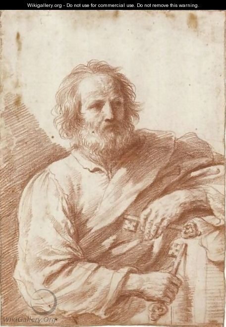 Saint Peter 2 - Giovanni Francesco Guercino (BARBIERI)