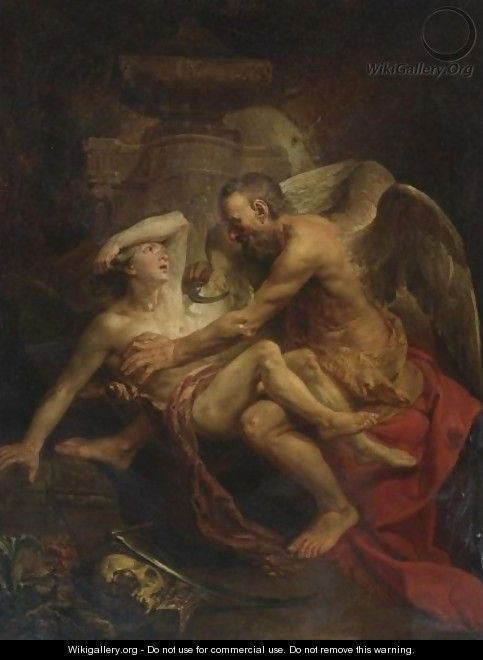 Time Clipping The Wings Of Love - Johann Zoffany