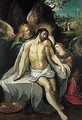 The Crucified Christ Supported By Angels - Frans the younger Francken