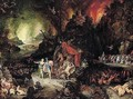 Aeneas And The Sibyl In The Underworld - Jan The Elder Brueghel