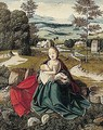 The rest on the flight into Egypt - (after) Jan Provost