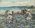Midst The Fairy Flax - Edward Atkinson Hornel