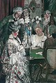 At The Card Table - Maurice William Greiffenhagen