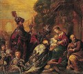 The Adoration Of The Magi - Claude Vignon
