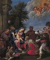 The adoration of the magi 2 - Roman School