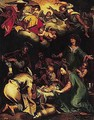 The adoration of the shepherds 6 - (after) Abraham Bloemaert