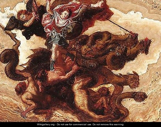 The fall of the Rebel angels - North-Italian School