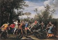 The Caledonian Boar Hunt - Francesco Allegrini