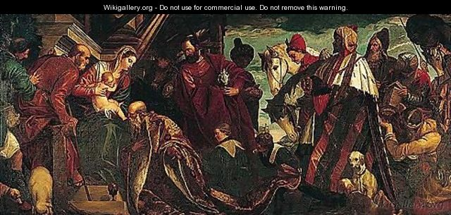 The adoration of the magi 3 - (after) Paolo Veronese (Caliari)