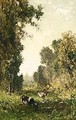 A Wooded Landscape - Willem Roelofs