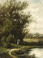 Bord D'Une Riviere (A Pair) - Leon Victor Dupre