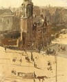 A View Of The Muntplein - Isaac Israels