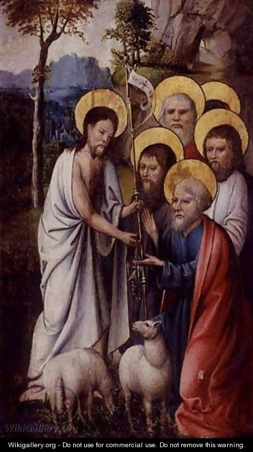 Christ with disciples - Netherlandish School