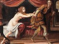 Joseph and Potiphar's wife - Florentine School