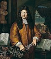 Portrait Of The Botanist Jan Commelin (1629-1692) - Gerard Hoet