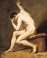 Male nude - French School
