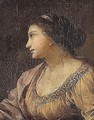 Portrait of a lady - (after) Simon Vouet