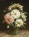 A Still Life With Flowers - Otto Eerelman