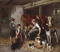 Im Stall (In The Stable) - Adolf Eberle