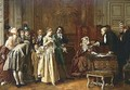 Le Mariage - Jules Adolphe Goupil