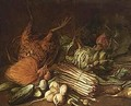 Artichokes, Red Cabbage And - Flemish School