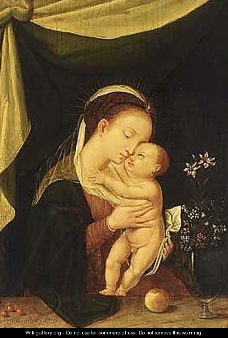 The madonna and child 3 - Flemish School