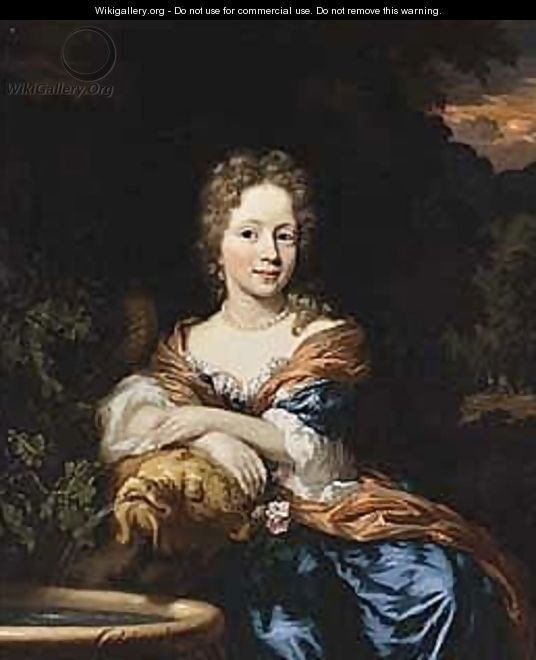 A Portrait Of A Young Lady - Nicolaes Maes