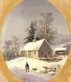 Durrie-christmas 1857 - George Henry Durrie