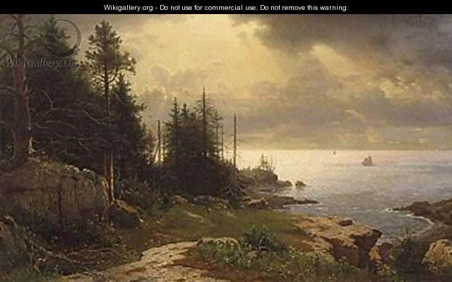 A view from mount desert 1861 - William Stanley Haseltine