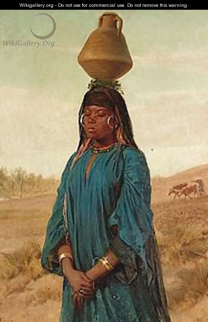 The Water Carrier - Frederick Goodall