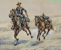 The Empty Saddle - Frederic Remington