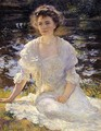 Portrait of Eleanor Hyde - Edmund Charles Tarbell