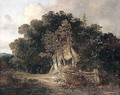Wooded Landscape With Cottage, Near Norwich - John Crome
