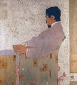 Portrait of the painter Anton Peschka 2 - Egon Schiele