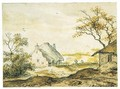 Landscape With Cottages - Allaert van Everdingen