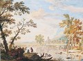 Italianate landscape - Jan Van Huysum