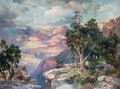 Grand Canyon of Arizona- Hermit Rim Road - Thomas Moran
