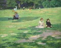 In the Park - Edward Henry Potthast