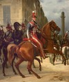 The Duke of Chartres on Horseback - Horace Vernet