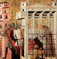 Scenes from the Life of St Colomba (St Colomba Saved by a Bear) - Italian Unknown Masters