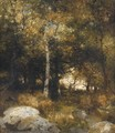 Autumn Wood - Thomas Moran