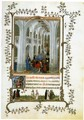 Miniature Turin-Milan Hours Burial Mass - Jan Van Eyck