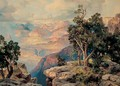 Grand Canyon of Arizona on the Santa Fe - Thomas Moran